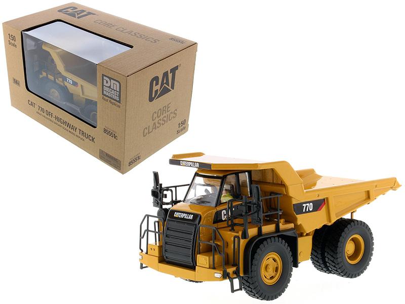 "CAT Caterpillar 770 Off Highway Dump Truck with Operator \""Core Classics Series\ - $100.11"