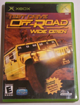 XBOX - TEST DRIVE OFF ROAD WIDE OPEN (Complete with Manual) - $10.00