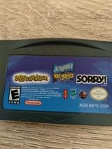 Nintendo Game Boy Advance GBA Aggravation/Scrabble Junior/Sorry! image 2