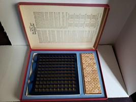 Vintage 1966 1970 Scrabble brand RSVP three dimensional crossword game image 1