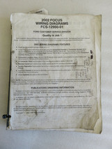 2002 Ford Focus Electrical Wiring Diagrams Service Manual OEM Factory Wo... - $2.15