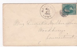 New Haven, Conn. March 20 1878 On #158 - $4.44