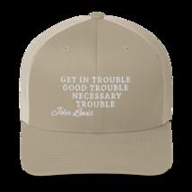 Good Trouble John Lewis Hat / Good Trouble Hat / John Lewis Trucker Cap image 9