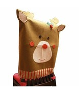 Dromedary Holiday Atmosphere Cute Reindeer Lovely Kitchen Chair Covers - $7.75