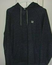 Billabong Mens Medium Hooded Embroidered Long Sleeve Sweatshirt - $26.96