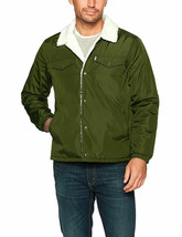 Levi's Men's Premium Multi Pocket Button Up Sherpa Coach Trucker Jacket image 2