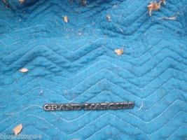1983 1984 1985 GRAND MARQUIS ADH MOUNT SIDE EMBLEM OEM USED ORIG MERCURY... - $37.03