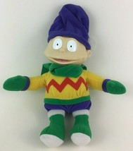 """Rugrats Winter Dressed Tommy Baby 10"""" Plush Stuffed Toy Doll Mattel 1999... - $21.73"""