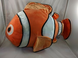 "Bandai Finding Dory Nemo Clown Fish Plush 24"" Stuffed Animal toy - $59.95"