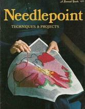 Needlepoint Techniques & Projects Sunset Book 2nd Printing 1973 Vintage ... - $9.89
