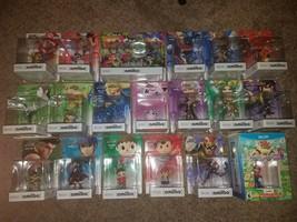Smash Bros. Amiibo LOT of 20 Amiibos New! Great Condition! Gold Mario! Read Desc - $387.00