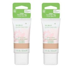 Lot of 2: NEW Almay Pure Blends Natural Makeup Foundation in 240 Beige (... - $12.86