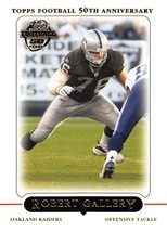2005 Topps #140 Robert Gallery NM-MT Raiders - $0.99