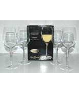 Luigi Bormiolo 0962605 Cresendo Chardonnay Crystal Wine Glasses Set of 4 - $35.99