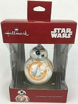 Hallmark 2018 Star Wars BB-8 Christmas Tree Ornament New Red Box Figure Droid - $9.49