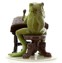Hagen-Renaker Specialties Froggie Mountain Breakdown Bluegrass Frog Dulcimer   image 3