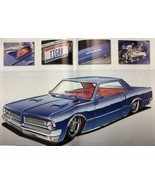 Pontiac 64 GTO Sabertooth Blue Car  Print Ad - $9.97