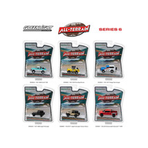 All Terrain Series 6, 6pc Diecast Car Set 1/64 Diecast Models by Greenli... - $49.05