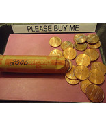 2006 LINCOLN CENT ROLL        WE COMBINE SHIPPING - $2.57