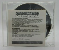 Corel Drivers for Enhanced CD (CD, 1995, CDRM1342330, Pre-owned) - $7.51