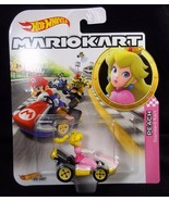 Hot Wheels Mariokart diecast PEACH standard Kart NEW - $8.56