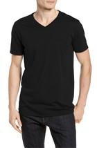 Lacoste Men's Premium Pima Cotton V-Neck Sport Shirt T-Shirt Tonal Croc image 2