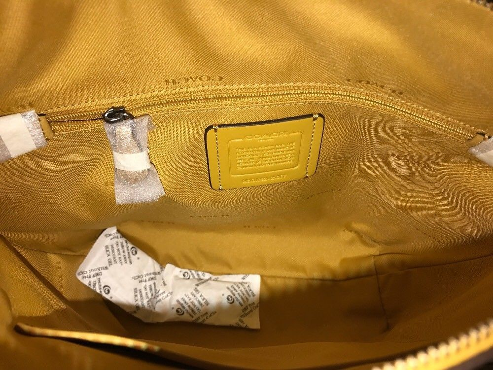 95a252b205 NEW Coach Womens Small Dufflette in Natural and 50 similar items