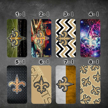 wallet case new orleans saints LG V30 V35  G6 G7 thinQ Google pixel XL 2 2XL - $16.48+