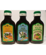 Set:burdock oil for hair and head 3x100 ml. With propolis,healing herbs - $20.00