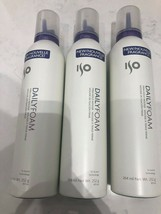 ISO Daily Foam Firm Hold Mousse 8.9oz ( 3 PACK ) Free 2-Day Shipping! - $27.99
