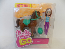 Barbie on the Go Motorized Pony and Doll  - $20.00