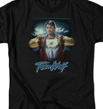 Teen Wolf T-shirt retro 80's Fantasy movie Scott Howard graphic tee MGM276 image 3