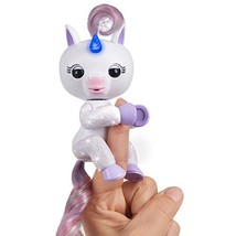 WowWee 3728 Fingerlings Light up Unicorn, Mackenzie, Friendly Interactive Toy, G - $24.98