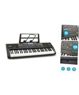 61-Key Digital Electric Piano Keyboard & Sheet Music Stand - Portable - $108.37