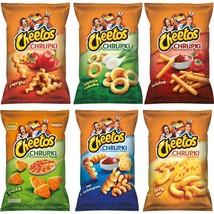 Cheetos Mix 6 Flavoured Corn Crisps 145-165g Jumbo Sharing Bag From Corn - $28.57