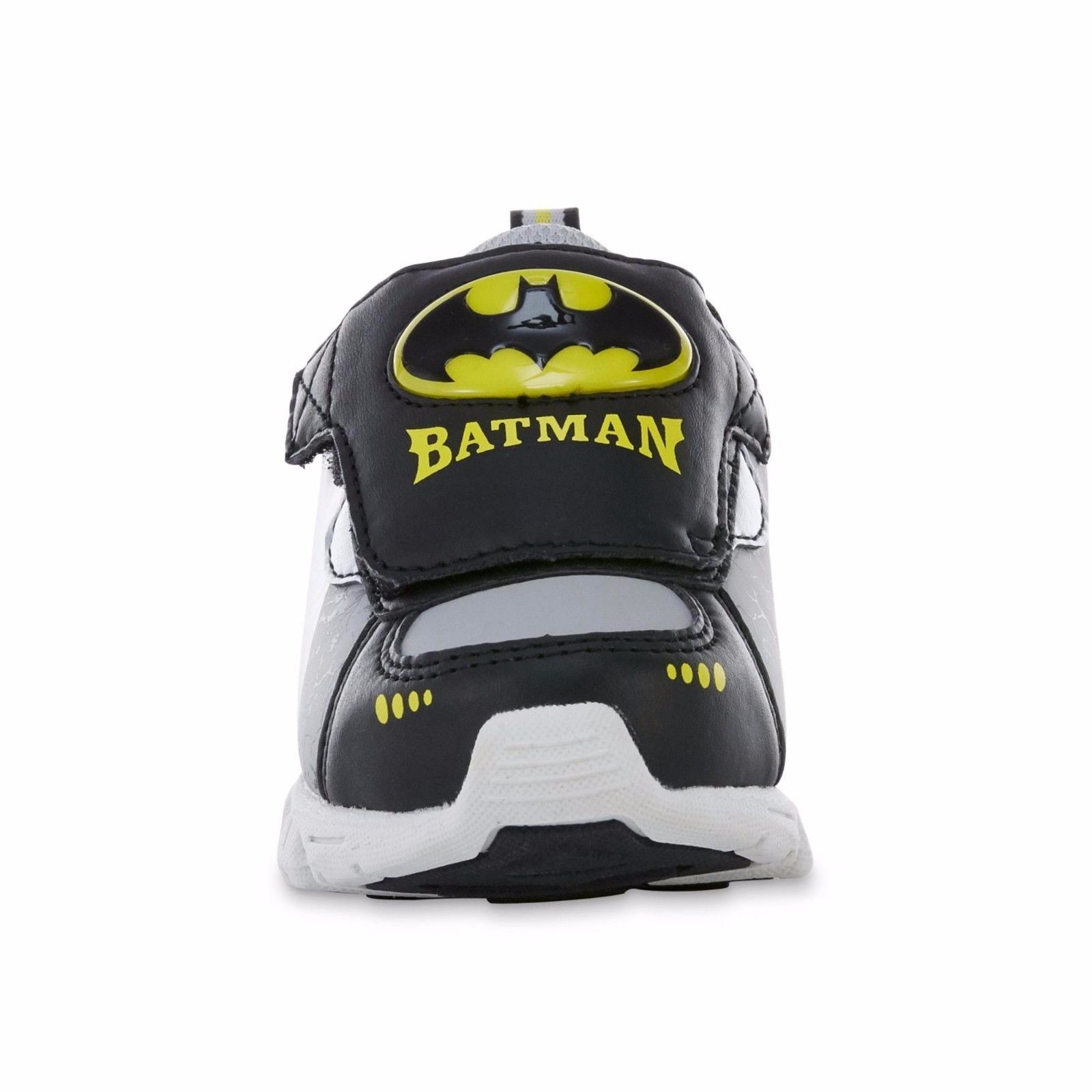 NEW DC Boys Toddler Child Batman Light Up Sneakers Size 7 8 9 10 11 or 12