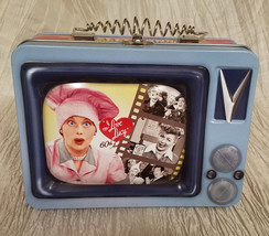 I LOVE LUCY TV TIN TOTE (60TH ANNIVERSARY) LUNCH BOX - $19.80