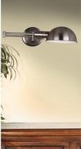 Kenroy Home Frye 5' Wall Swing Arm Lamp, Antique Nickel - $76.02