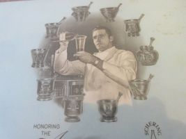 "Honor The American Pharmacist Partner In Health ,Plaque ,11/10/1972 , 11""X121/2"" image 3"