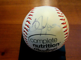 BO JACKSON KANSAS CITY ROYALS SIGNED AUTO RAWLINGS OFFICIAL LEAGUE BASEB... - $89.09