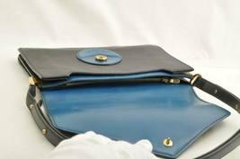 LOUIS VUITTON Epi Free Run Shoulder Bag Black Blue M52415 LV Auth 9735 image 9