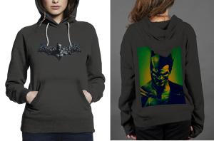 Batman arkham origins z hoodie women black