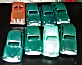 Vintage Toy cars -( 8 Vintage Cars from the 50's) - $6.90