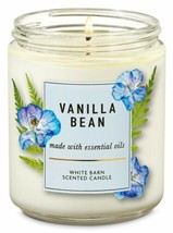 Bath & Body Works Vanilla Bean Wick Scented Candle 7 oz - $18.69