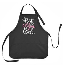 Best Mom Ever Apron, Mothers Day Apron, Best Mom Mothers Day Gift - $23.71 CAD