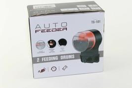 Upettools Automatic Timer Aquarium Tank Fish Feeder with 2 Fish Food Dis... - $10.89
