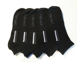 Hind Mens Low Cut Socks Ankle Athletic Running Performance Sports Black ... - $17.82