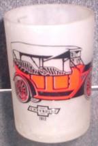 1960'S Retro Hazel ATLAS--BARWARE Old Cars Shot Glass (Chevrolet 1912) - $7.95