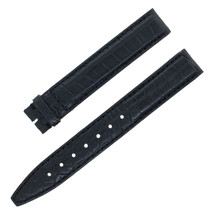 Gucci 14-12mm Black Crocodile Leather Ladies Watch Band - $59.00