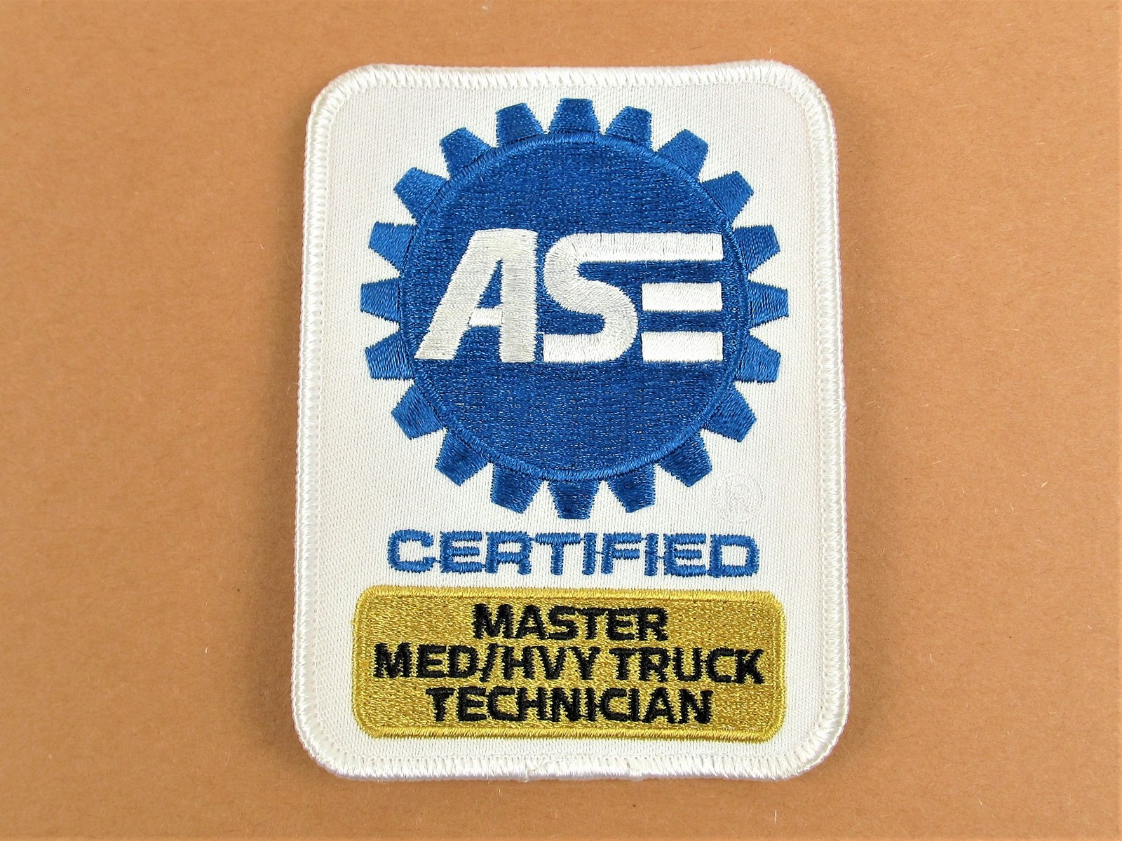 ase truck patch technician heavy excellence automotive patches